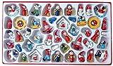 CHEPL Weihnachtsanhänger Deko 24PCS Weihnachtsanhänger Vintage Weihnachtsmann Schneemann Engel Schaukelpferd Baumschmuck Weihnachten Deko Anhänger