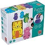Magnetisches Tier-Holzpuzzle  ab 12 Monaten (Jumbo Spiele)