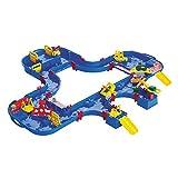 Aquaplay 8700001544 - Wasserbahn Set 'Mega Set', 38-teilig