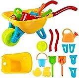 deAO Playset Von Gartenarbeit für Kinder Gartenkarre Mit Zubehör