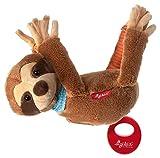 sigikid, Mädchen und Jungen, Hängespieluhr Faultier mit austauschbarem Spielwerk, Babyspielzeug, empfohlen ab 0 Monaten, braun, 42417