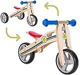 Mini-Laufrad mit 3 Rädern ab 1 Jahr (BIKESTAR)