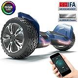 8.5 Premium Offroad Hoverboard Bluewheel HX510 SUV; Deutsche Qualitts Marke; Kinder Sicherheitsmodus & App - Bluetooth; Starker Dual Motor; Aluminium Case Elektro Skateboard Self Balance Scooter