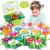 CENOVE Blumengarten Spielzeug fr Mdchen, DIY Bouquet Sets Geschenk fr 3-6 Jhrige Mdchen, Kunst Blumenarrangement Spielzeug fr Kinder(130PCS)