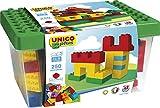 250 Bausteine in praktischer Aufbewahrungsbox (Unico)