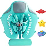 V Convey Size Improved Add Tail Never Flip Over Mambobaby 2020 Newest Non-Inflatable Float Relaxing Swim Trainer Infant Solid Swimming Ring Children Waist Float Ring Pool Floats Swim Ring
