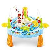 25 Stück Sandkastentisch Wasser | spieltisch wassertisch | wassertisch spielzeug kinder, Angelspielzeug Kit für Babys Kleinkinder Jungen Mädchen Frühpädagogik