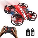 NEHEME NH330 Mini Drohne für Kinder Anfänger, RC Quadcopter mit 2 Akkus Lange Flugzeit, Automatische Höhenhaltung, Kopflos Modus, 3D Flip, Ferngesteuerte Spielzeug Drohne/Geschenk für Jungen Mädchen