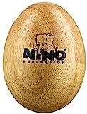 Egg Shaker aus Gummibaumholz (Nino Percussion)