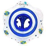 Babyino Baby Schwimmring (Blau) 6 bis 36 Monate bis 15kg