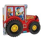 Trötsch Pappenbuch mit Rädern Mein großer roter Traktor: Spielbuch Räderbuch Beschäftigungsbuch (Beschäftigungsbücher: Beschäftigung)