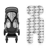 Sitzeinlage, Eyscoco Baby Sitzauflage Universal Atmungsaktive Sommer Sitzauflage für Kinderwagen, Buggy, Kindersitz und Babyschale