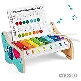 TOP BRIGHT Holz Xylophon Kinder 1 Jahr, Musik Instrumente Kinder Holz, Kinderspielzeug 1 Jahr Junge Mdchen
