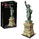 LEGO 21042 Architecture Freiheitsstatue, Modell zum Bauen, New York Souvenir, Geschenkidee für Kinder und Erwachsene