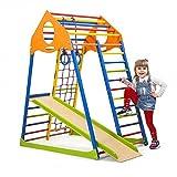 Spielcenter Aktivitätsspielzeug'KindwoodColor' Kletterturm mit Rutsche Kinder Spielplatz