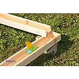 EDUPLAY 160252 Wasserbahnen Holzbahnen, Natur, 12-teilig (1 Set)