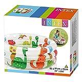 Intex–aufblasbares Planschbecken INTEX Farben + Base 61x 22cm-33L–57106NP, Modelle und Farben sortiert
