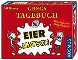 Kosmos 691905 - Gregs Tagebuch - Eier-Matsch, Familienspiel von Jeff Kinney dem Autor von Gregs Tagebücher, für Kinder ab 8 Jahre