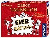 KOSMOS 691905 - Gregs Tagebuch - Eier-Matsch, Familienspiel von Jeff Kinney dem Autor von Gregs Tagebcher, fr Kinder ab 8 Jahre