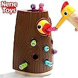 Nene Toys - Lernspielzeug fr Jungen und Mdchen 2 3 4 Jahre Alt - Magnetisches Kinderspiel mit Farben zur Kognitiven, Krperlichen und Emotionale Entwicklung von Fhigkeiten fr Babys Vorschlern