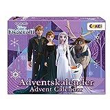 CRAZE Adventskalender Frozen II Weihnachtskalender Eiskönigin Eisprinzessin 2021 Mädchen Spielzeugkalender Kreative Inhalte Tolle Überraschungen 24652
