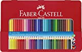 Großes Buntstifte Set mit 36 Farben im Metallkasten