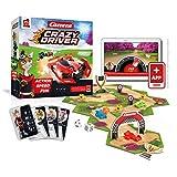 Rudy Games Crazy Driver – Interaktives Rennspiel mit App – Actionreiches Gesellschaftsspiel für die ganze Familie und Freunde – Ab 8 Jahren – Für 2-4 Spieler