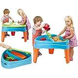 FEBER Famosa 800010238 Play Island - Spielplatz im Insel-Design, für Kinder von 2 bis 6 Jahren, blau
