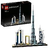 LEGO 21502 Architecture Dubai, Skyline-Kollektion, Modellbausatz, Set zum Stressabbau für Erwachsene und Jugendliche ab 16 Jahre