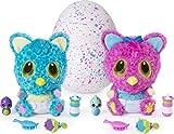 Hatchimals 6044072 - HatchiBabies Cheetree, Baby - Hatchimal mit interaktiven Accessoires