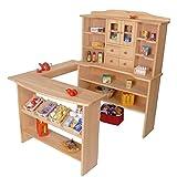 Kinder-Kaufmannsladen 3010G - Holz-Kaufladen - Marktstand - Kinder-Einkaufsshop …