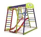 Kinder Aktivitätsspielzeug Kletterturm mit Rutsche'Unga-1' Spielcenter Spielplatz