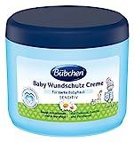 Bbchen Baby Wundschutz Creme, sensitive Wundheilsalbe, Wund- und Heilsalbe fr zarte Babyhaut, mit Sonnenblumenl und Kamille, Menge: 1 x 500 ml
