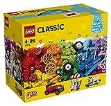 Fahrzeuge-Bauset mit verschiedenen Steinen und Rädern (LEGO)