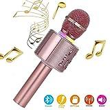 Karaoke-Mikrofon für Kinder - in 3 verschiedenen Farben erhältlich (Allcele)