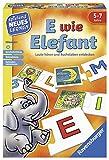 E wie Elefant - Lernspiel für 5-Jährige (Ravensburger)