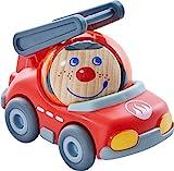 Spielzeug-Feuerwehrauto: Fridos Feuerwehrauto für Kullerbü-Bahnen (HABA)
