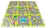 Brigamo Stadt Puzzlematte, Spielmatte unendlich erweiterbar!