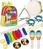 Pädagogisches Musikspielzeugset mit Orff-Instrumenten (Smarkids)