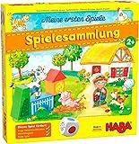 HABA 304223 - Meine ersten Spiele  Spielesammlung, 10 erste Spiele auf dem Bauernhof fr 1-3 Kinder ab 2 Jahren