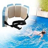 wisedwell Schwimmgürtel für Kinder 6-12 Jahre entfernbar Schwimmlernhilfe mit 6 Auftriebskörpern