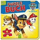PAW Patrol Puzzlebuch: Mit 4 Puzzles  12 Teilen
