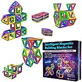Desire Deluxe Magnetische Bausteine Magnet Montessori Spielzeug fr Kinder 40PC Set Teilen ab 3 4 5 6 7 8 Alter Jahren, ideales Lernspielzeug fr Mdchen Jungen Koordination und zum Bauen in Geschenk