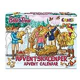 CRAZE Adventskalender BIBI & Tina Weihnachtskalender B&T für Mädchen Spielzeugkalender 2021 Kreative Inhalte, Tolle Überraschungen 24676