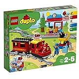 Dampfeisenbahn mit Wagons, Spielfiguren und weiterem Zubehör (LEGO DUPLO)