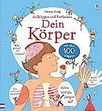 Dein Körper: Aufklappbuch mit über 100 Klappen (Usborne Publishing)