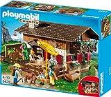 Playmobil große Almhütte 5422 mit Balkon, Stall und mehr