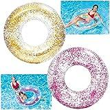 INTEX® 56274 Glitzer-Schwimmreifen Ø 107 cm, Farblich Sortiert