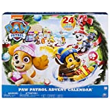 PAW Patrol 6045038 - Adventskalender 2018 - 24 Überraschungen - hochwertige Kunsstoff Figuren und Zubehör