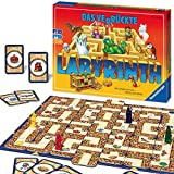 Ravensburger Familienspiel Das verrückte Labyrinth, Kinder- und Gesellschaftsspiel, für Kinder und Erwachsene, 2-4 Spieler, ab 7 Jahren